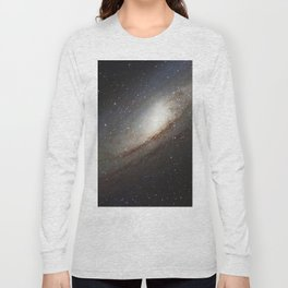 The Andromeda Galaxy, spiral galaxy in the constellation of Andromeda Messier 31 M31 Long Sleeve T-shirt