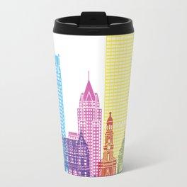 Milwaukee V2 skyline pop Travel Mug