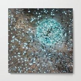 Lucent Galaxy Lights Metal Print