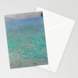 "Gustav Klimt ""Lake Attersee"" Stationery Cards"