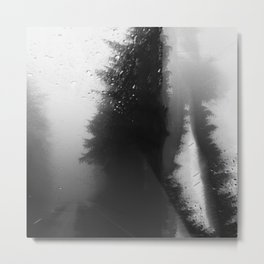What Lies Down Hidden Rain Drenched Paths Metal Print