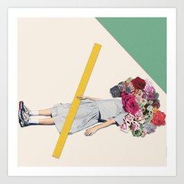 Bury Me Art Print