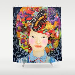 inside of me Shower Curtain