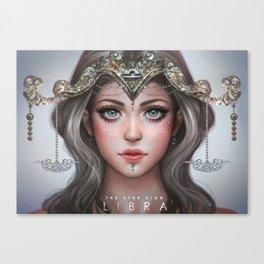 Libra - The Star Sign Canvas Print