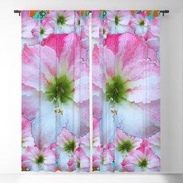 AWESOME PINK AMARYLLIS FLOWERS ART DESIGN Blackout Curtain
