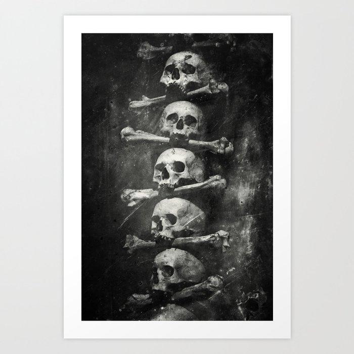 Once Were Warriors VI. Art Print