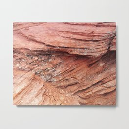 A Rubble State Of Mind Metal Print