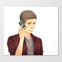 stiles Canvas Prints featuring Stiles by Autumnleaves