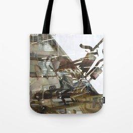Car Emissions - overlapper Tote Bag