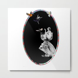 Tipsy Hoop Dream Metal Print