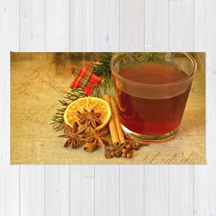 Winter Tea Rug