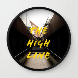 The High Line Wall Clock