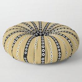 Sea Urchin Khaki Floor Pillow
