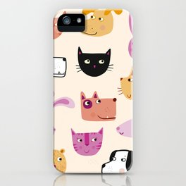 All the Pets iPhone Case