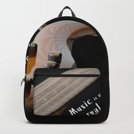 Music is Real Magic Backpack