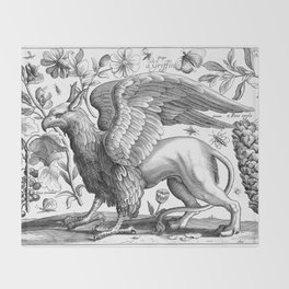 A griffin. Throw Blanket
