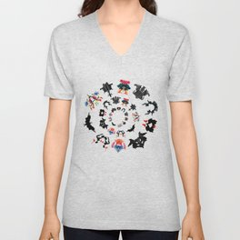 Rorschach test subjects' perceptions of inkblots psychology   thinking Exner score Unisex V-Neck
