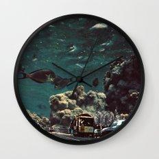 Meriggio a Gorgonia Wall Clock