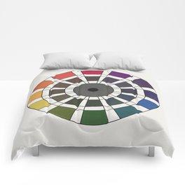 Rouget de Lisle - Table Chromatique 1838, Remake, renewed version Comforters