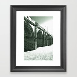 Bridge in Ribeira Grande Framed Art Print