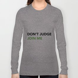 JOIN ME Long Sleeve T-shirt