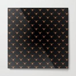 Dark Chocolate Moose Metal Print