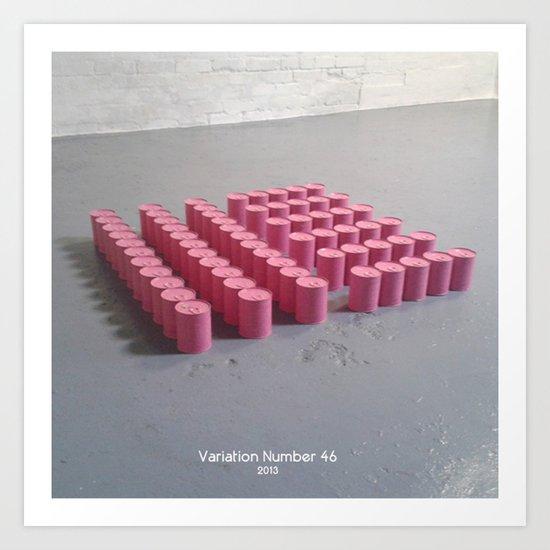 Variation Number 46 (photo) Art Print