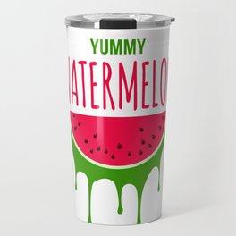 Yummy Watermelon Travel Mug