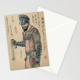 Leather In Japan 1 Stationery Cards