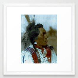 Rabbit Head - Hidatsa - American Indian Framed Art Print