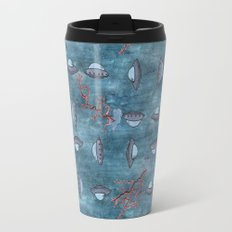 UFOs flying Travel Mug