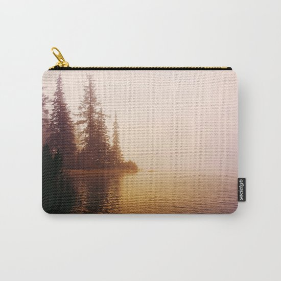 Sunset at Lake Carry-All Pouch