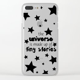 Tiny Stories Clear iPhone Case