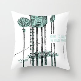 Home - ANALOG zine Throw Pillow