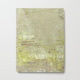 Abstract 009 - Yellow Metal Print