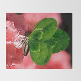 Lucky Butterfly Throw Blanket