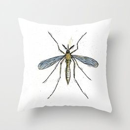Mosquito Control Throw Pillow