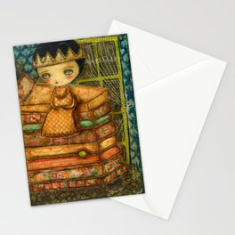 Sleepless Nights With The Princess And The Pea Stationery Cards