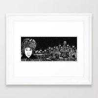 finland Framed Art Prints featuring Finland by Matt Ferguson