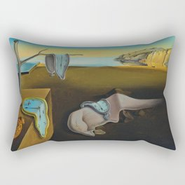 THE PERSISTENCE OF MEMORY--- SALVADOR DALÍ Rectangular Pillow