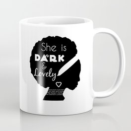 Dark and Lovely With Scripture Coffee Mug