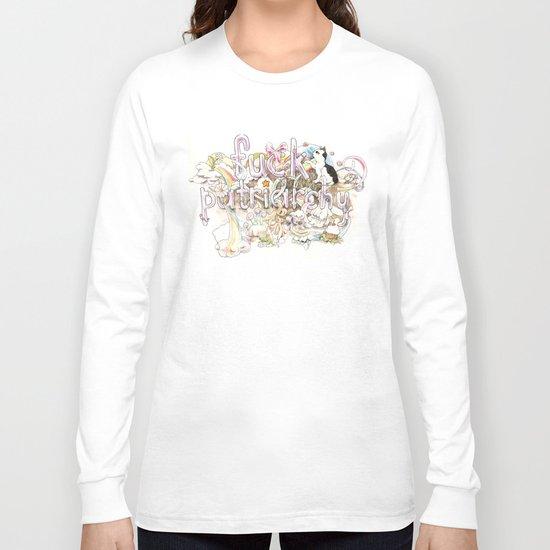 Fuck Patriarchy Long Sleeve T-shirt