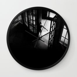 The Lens and the Soul - I - series Wall Clock