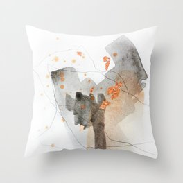 Piece of Cheer 5 Throw Pillow
