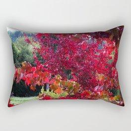 View Between The Branches Rectangular Pillow