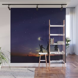 Friendship is the greatest adventure of all Wall Mural