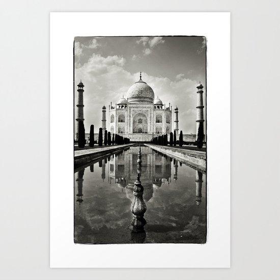 Taj Mahal Art Print