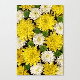 Yellow & Green Canvas Print