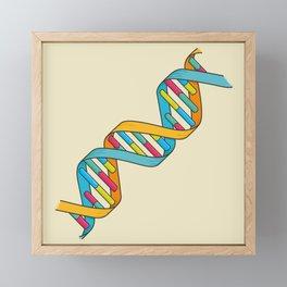 Dna Framed Mini Art Print