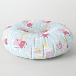 Peppa Pg Pattern 02 Floor Pillow